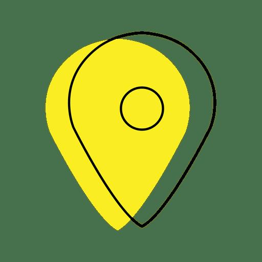 Ícone de localização Transparent PNG