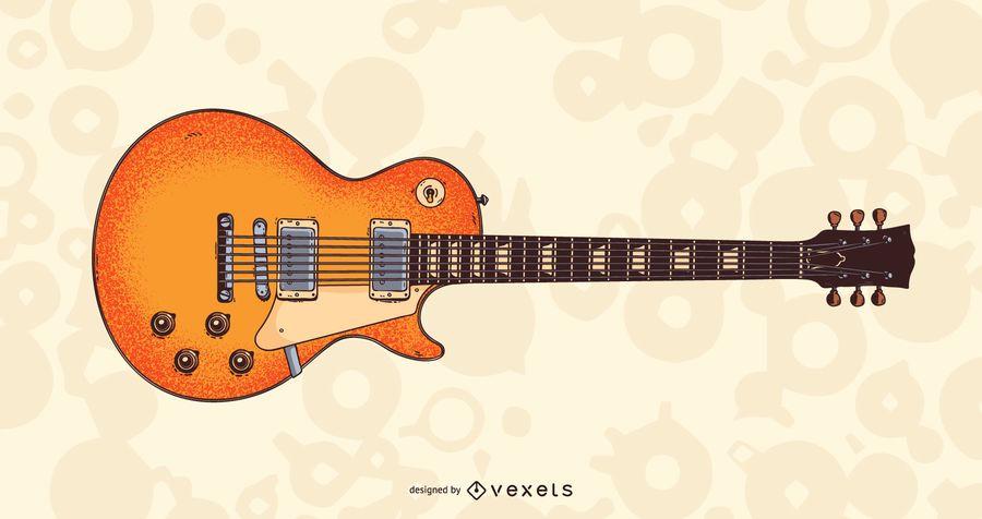 LP Horizontal Style Guitar
