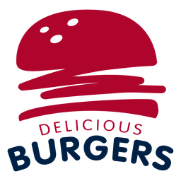 Logo burger fast food joint