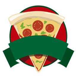 Logo fast food pizza