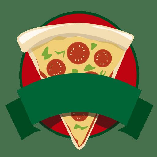 Logo pizza de comida rápida Transparent PNG