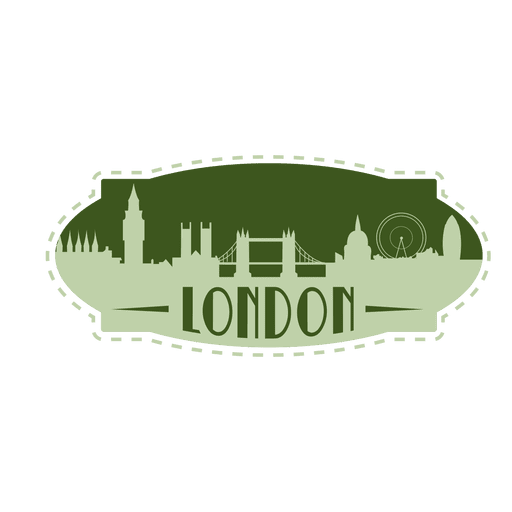 London landmark emblem Transparent PNG