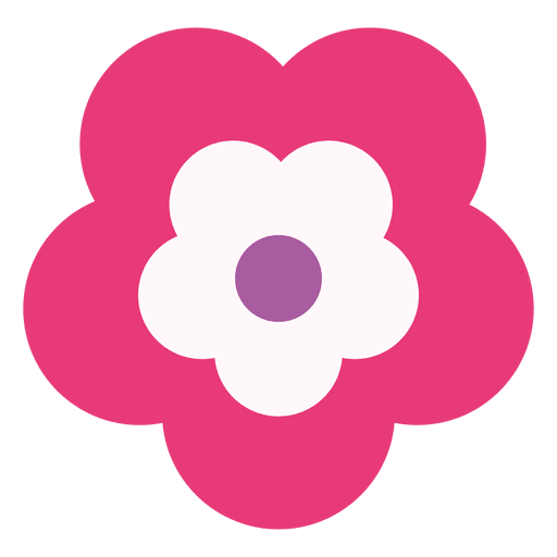 Magenta flower icon transparent png svg vector magenta flower icon transparent png mightylinksfo Choice Image