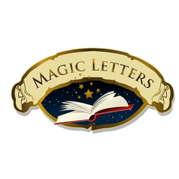 Magic letters logo