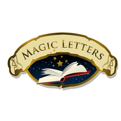 Magic letters logo Transparent PNG