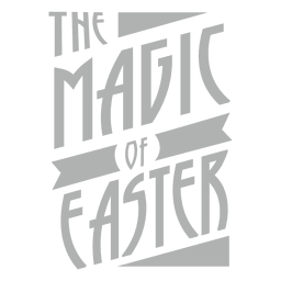 Magic of Easter Lettering