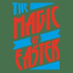 Insignia de Magia de Pascua