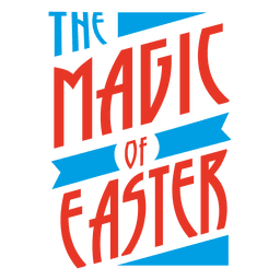 Magic of Easter Badge
