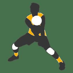 Jogador de voleibol masculino