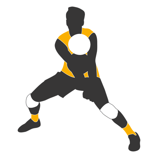 Male volleyball player