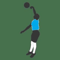 Jogador de voleibol masculino 1
