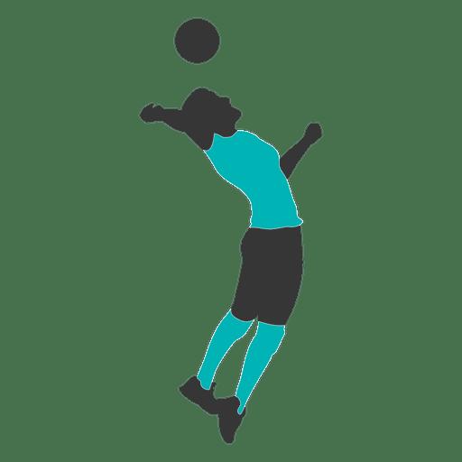 Jugador de voleibol masculino 3 Transparent PNG