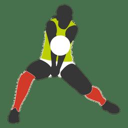 Jogador de vôlei masculino 5