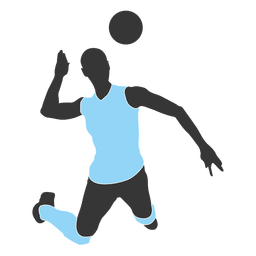 Jugador de voleibol masculino 9