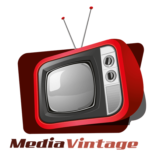 Media vintage logo Transparent PNG