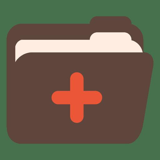 Ícone de arquivo médico Transparent PNG