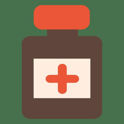 Icono de botella de medicina