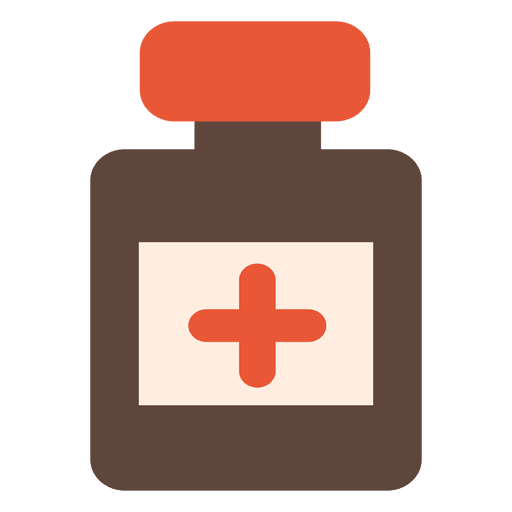 Medicine bottle icon Transparent PNG