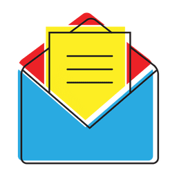 Icono de mensaje de chat abierto