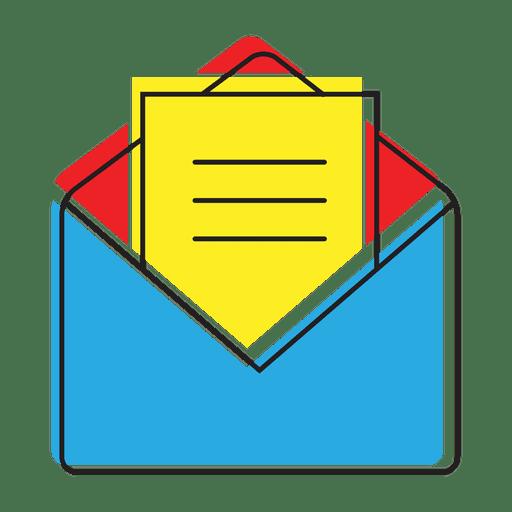 Icono de chat de mensaje abierto