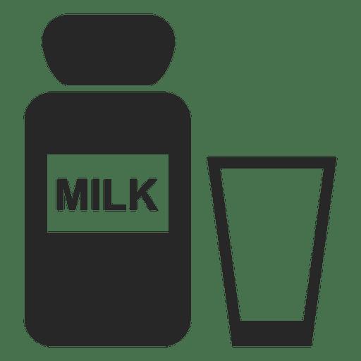 vidrio botella de leche Transparent PNG