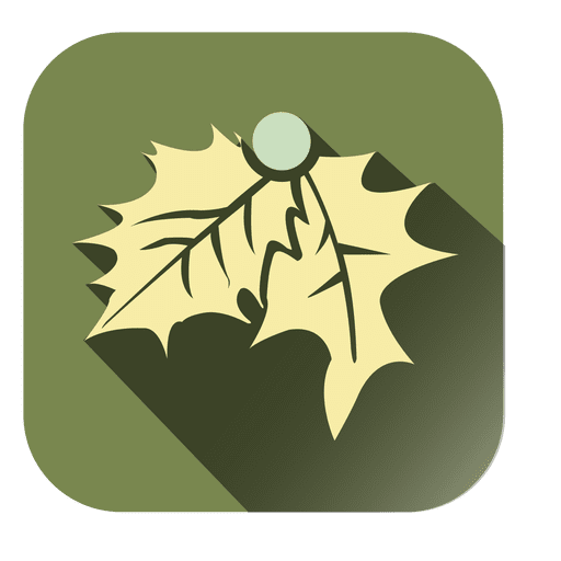 Mistletoe Square Icon