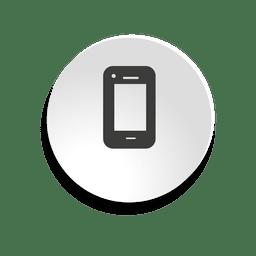 ícone da bolha móvel