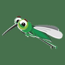 mosquito de dibujos animados