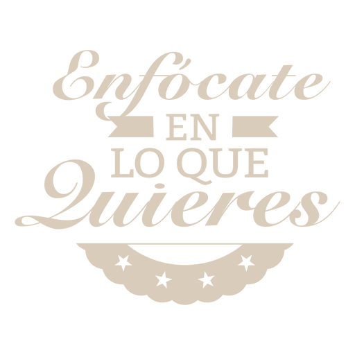 Motivational spanish badge
