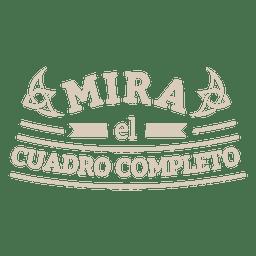 Motivational spanish badge 3