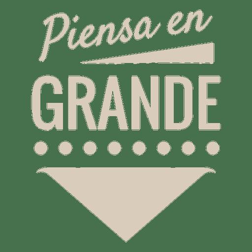 Motivational spanish label Transparent PNG