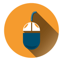 Icono de círculo de ratón