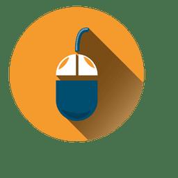 Mouse circle icon