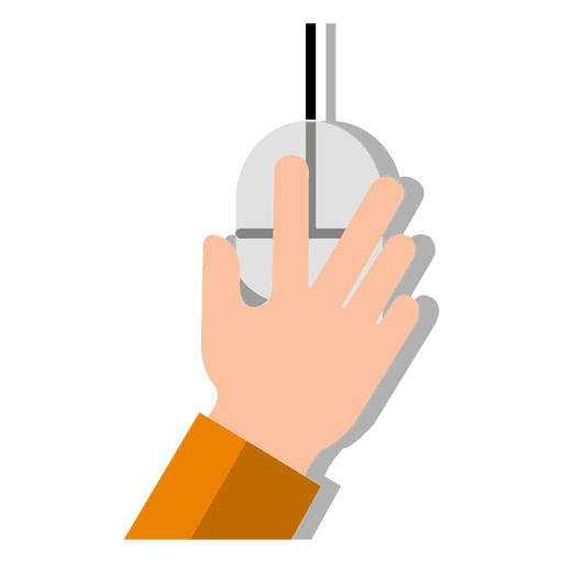 Mouse with hand - Transparent PNG & SVG vector Mac Mouse Hand Png