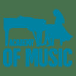 Logotipo da academia de música