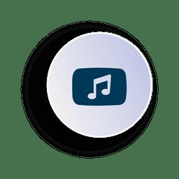 Musik-Kreis-Symbol