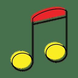 Ícone de nota musical
