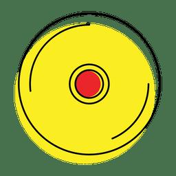 reproductor de música icono