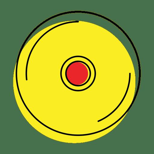 Icono de reproductor de música