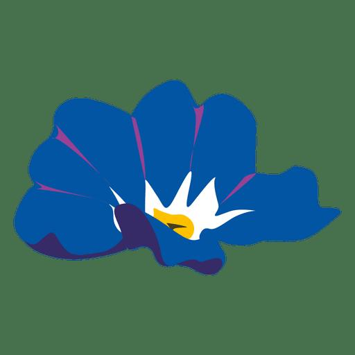 Myosotis flower cartoon