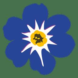 Myosotis historieta de la flor 1