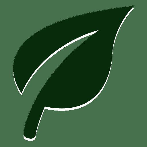 Logotipo de la hoja de la naturaleza Transparent PNG