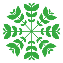 Naturaleza hojas insignia