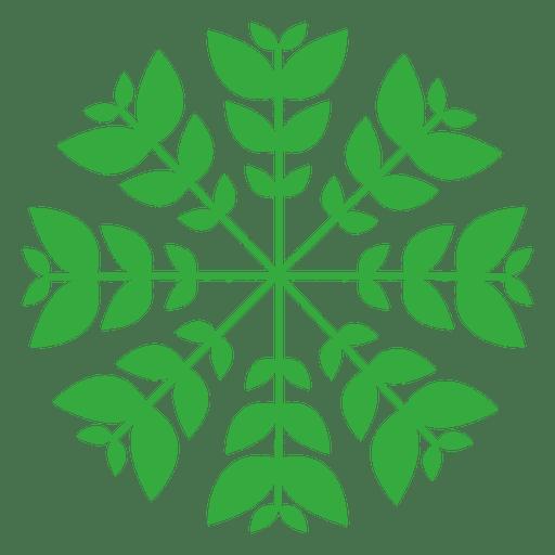 Natur verlässt Logo Transparent PNG