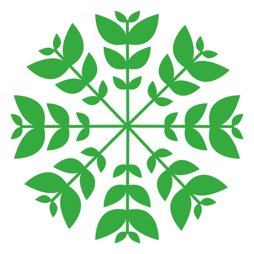 Nature leaves logo Transparent PNG