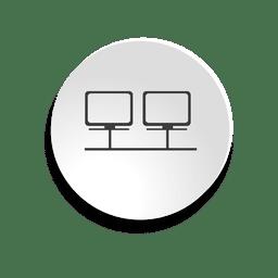 ícone da bolha de rede