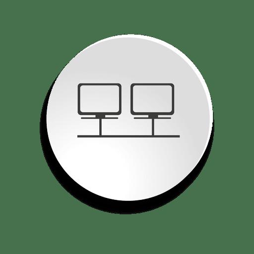 Ícone de bolha de rede Transparent PNG