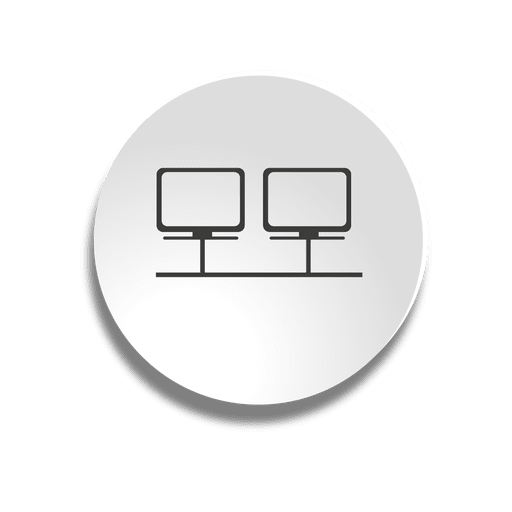 Network bubble icon Transparent PNG
