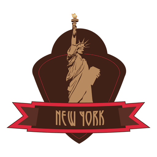 New york landmark emblem Transparent PNG