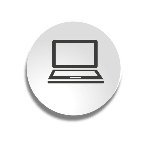 Notebook bubble icon Transparent PNG